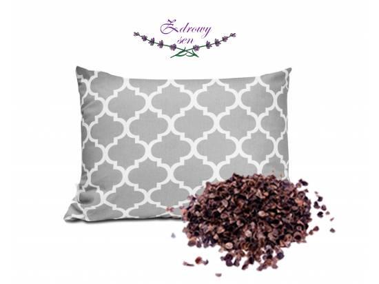 poduszka z łuską gryki gryczana do spania 50x60