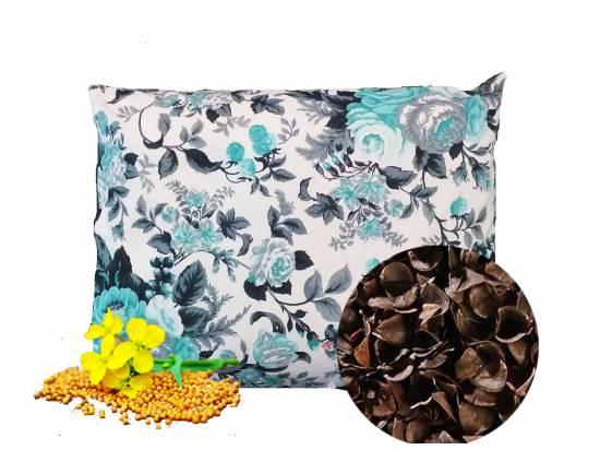 poduszka z łuską gryczaną i gorczycą
