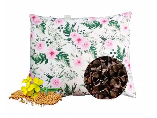 poduszka do spania z łuską gryki gorczycą lecznicza