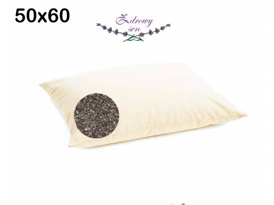 poduszka gryczana z łuską gryki naturalna eko gryka 50x60