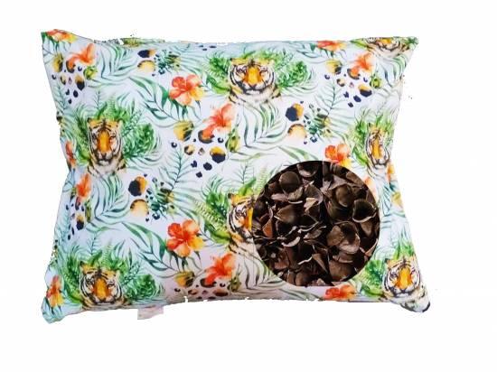 poduszka z łuska gryki naturalne wypenienie lecznicza