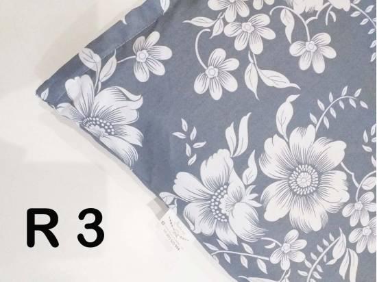 poszewka na poduszkę 40x60 cm wzory róże na szarym zdrowy sen