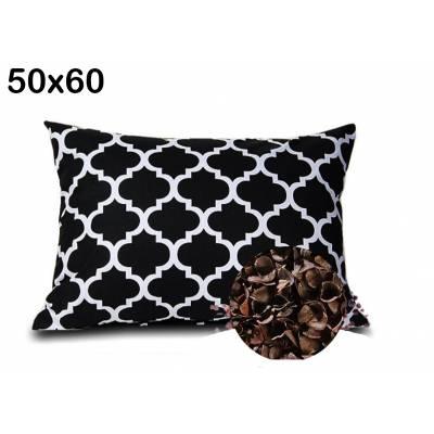 poduszka gryczana z łuską gryki 50x60 antyalergiczna eko