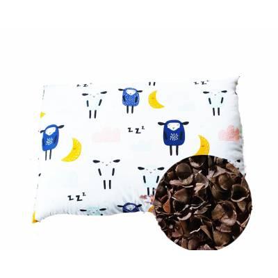 poduszka dla dziecka antyalergiczna z łuską gryki