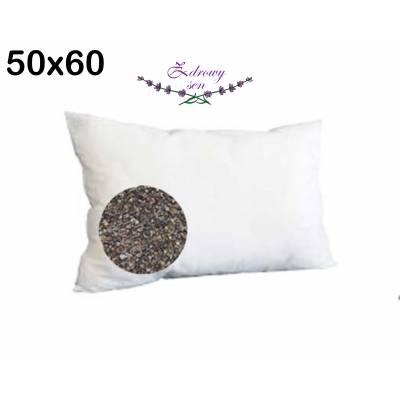 poduszka z łsuką gryki gryczana antyalergiczna na zdrowy sen 50x60