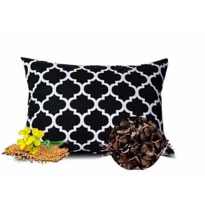 poduszka z łuską gryki i gorczycą zdrowy sen