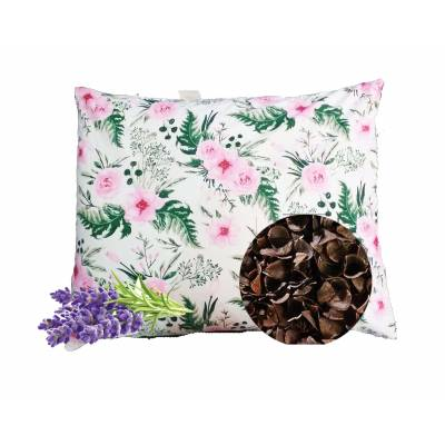 poduszka z łuska gryki i lawendą antyalergiczna do spania różne rozmiary