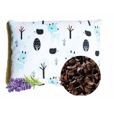 poduszka dla dziecka z lawendą łuska gryki